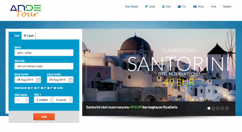 AndeTour Travel Agency Portal (Hotel, Flight Ticket
